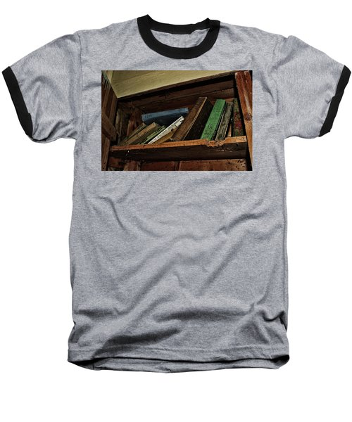 Stay A While And Listen Baseball T-Shirt by Ryan Crouse