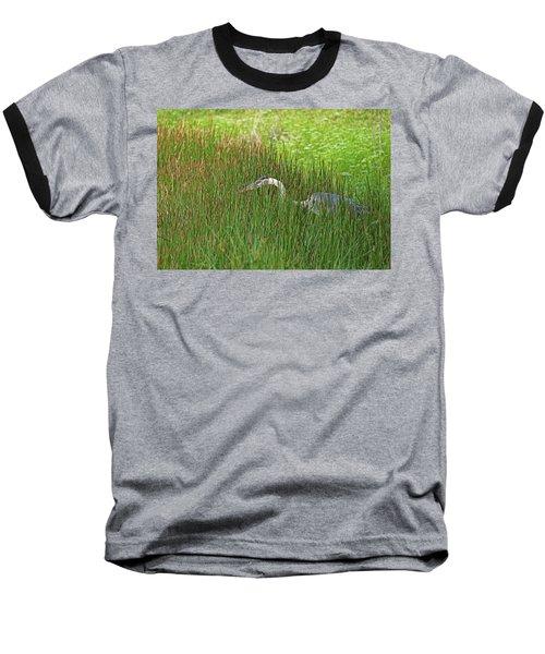 Stealth Heron Baseball T-Shirt
