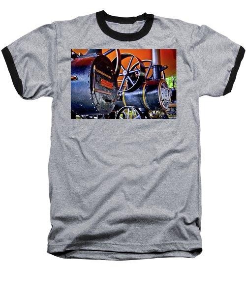 Steam Engines - Locomobiles Baseball T-Shirt