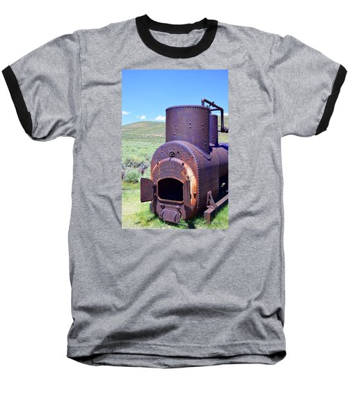 Steam Generator Baseball T-Shirt