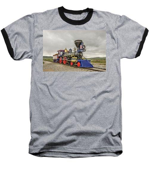 Steam Locomotive Jupiter Baseball T-Shirt