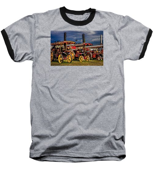 Baseball T-Shirt featuring the photograph Steam Power by Chris Lord