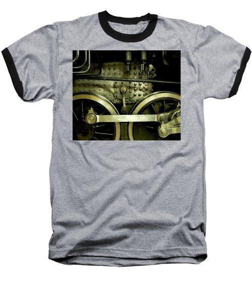 Steam Power I Baseball T-Shirt