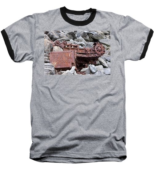 Steam Shovel Number One Baseball T-Shirt