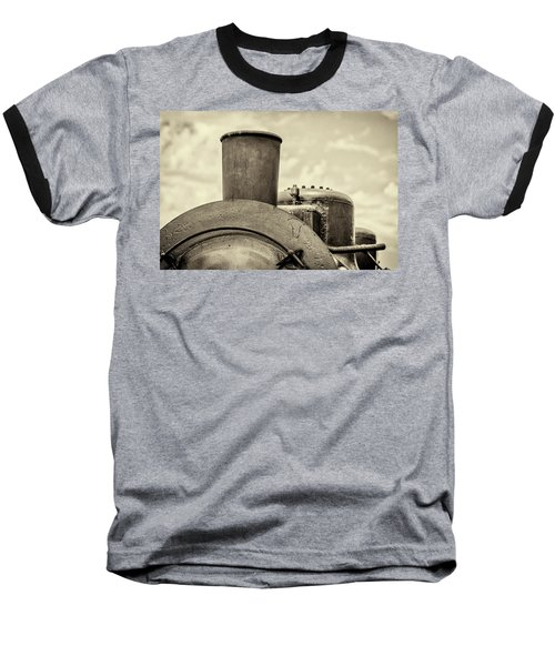 Baseball T-Shirt featuring the photograph Steam Train Series No 2 by Clare Bambers