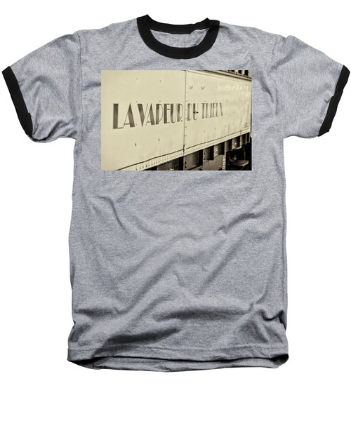Baseball T-Shirt featuring the photograph Steam Train Series No 34 by Clare Bambers