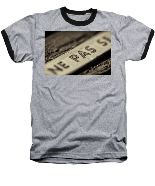 Baseball T-Shirt featuring the photograph Steam Train Series No 35 by Clare Bambers