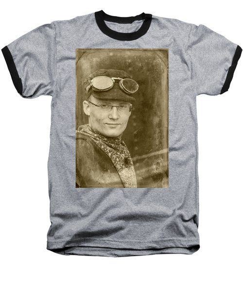 Baseball T-Shirt featuring the photograph Steam Train Series No 39 by Clare Bambers