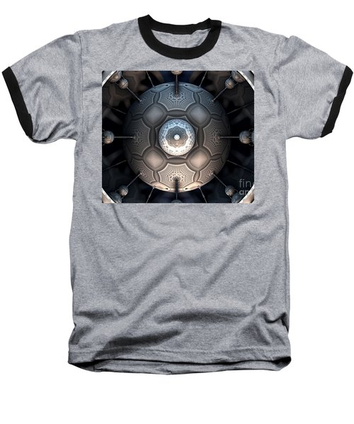 Steamball Interior Shot Plate 1a Baseball T-Shirt