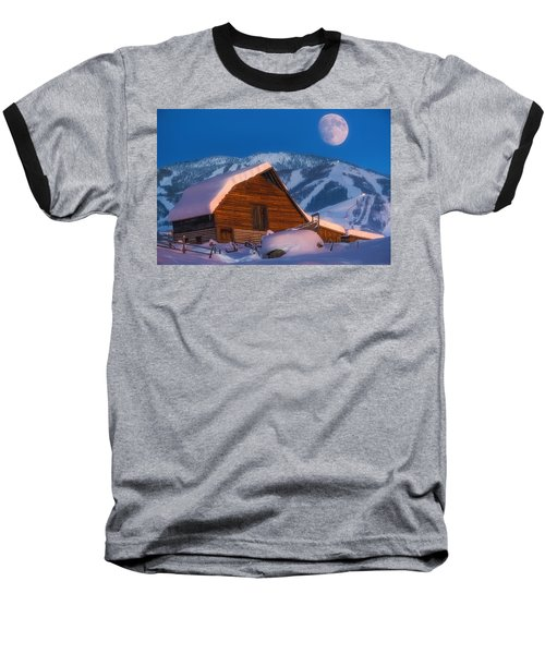 Steamboat Dreams Baseball T-Shirt