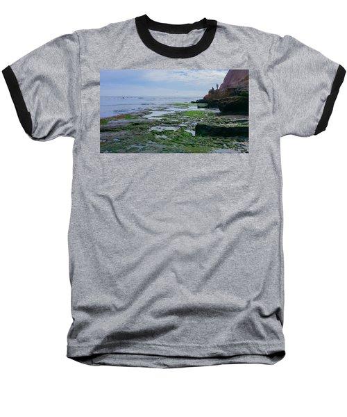 Steamer Lane Santa Cruz Baseball T-Shirt by Mark Barclay