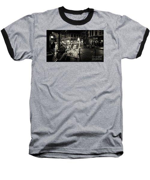 Steamin' Johnny Baseball T-Shirt
