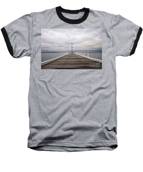 Baseball T-Shirt featuring the photograph Steampacket Quay by Linda Lees