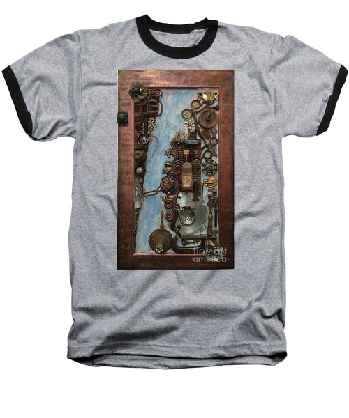 Steampunk 1 Baseball T-Shirt