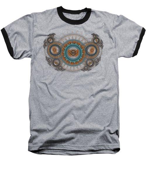 Steampunk Butterfly  Baseball T-Shirt
