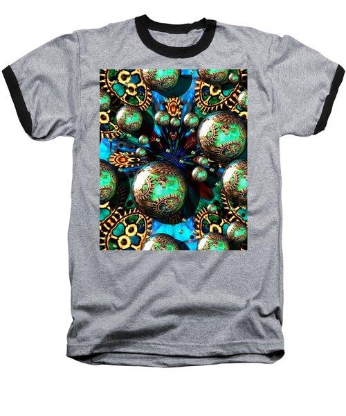 Steampunk Fractal 71216.4 Baseball T-Shirt