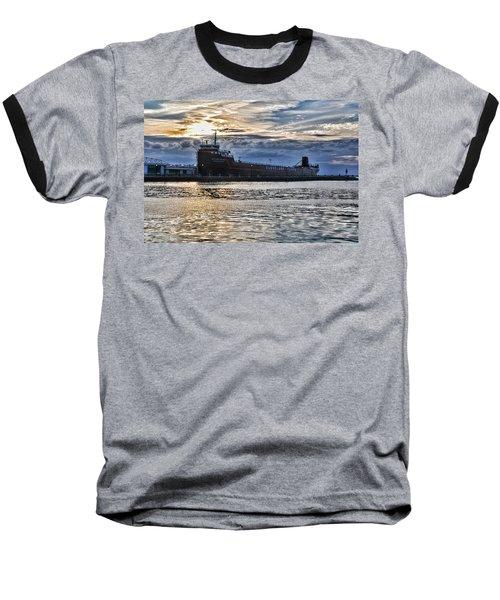 Steamship William G. Mather - 1 Baseball T-Shirt