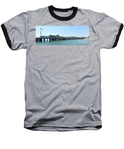 Stearns Wharf 2 Baseball T-Shirt