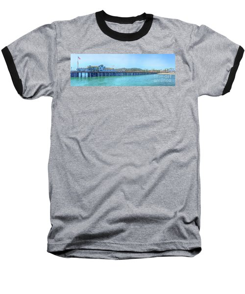Stearns Wharf Baseball T-Shirt