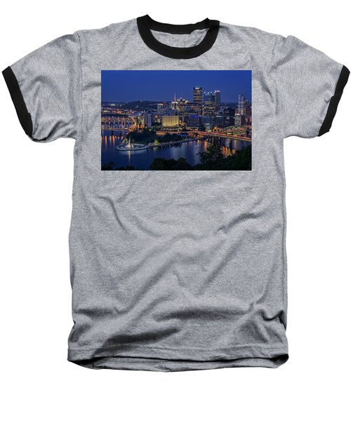 Steel City Glow Baseball T-Shirt
