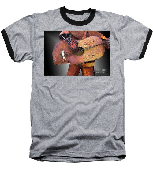 Steel Guitar - Or - Too Many Fingers And Not Enough Strings Baseball T-Shirt