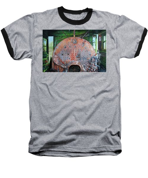 Steel Heart Baseball T-Shirt