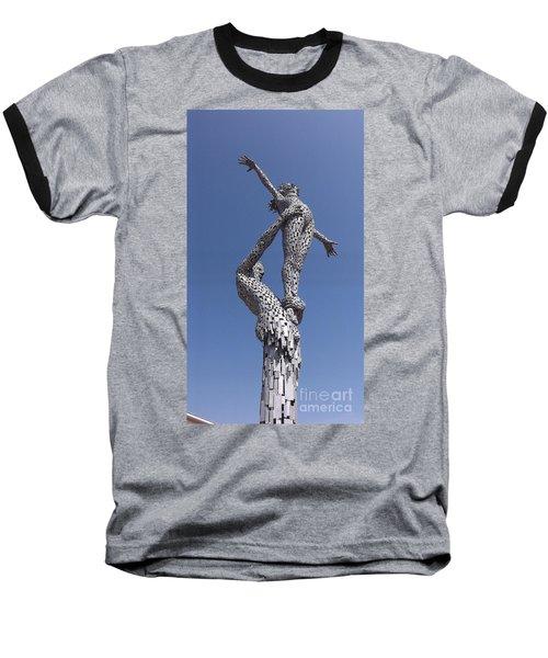 Steel People Baseball T-Shirt