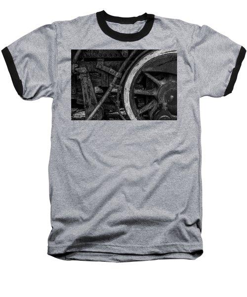 Steel Wheels In Monochrome Baseball T-Shirt
