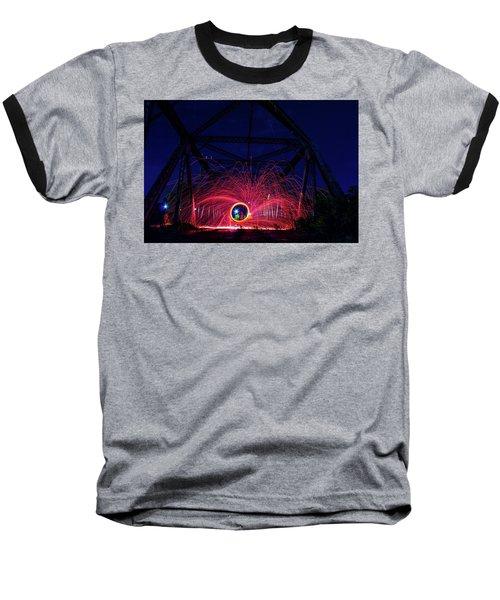 Steel Wool Spinner Baseball T-Shirt