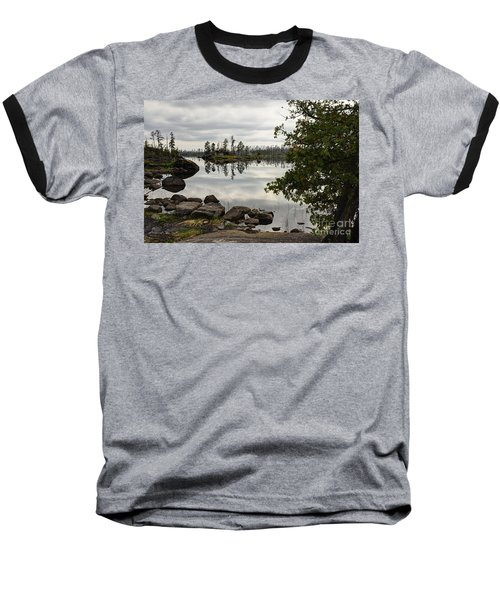 Baseball T-Shirt featuring the photograph Steely Day by Larry Ricker