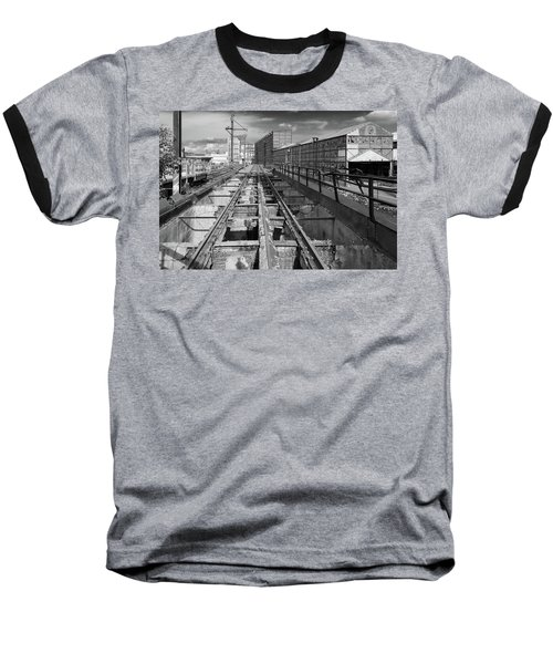 Steelyard Tracks 1 Baseball T-Shirt