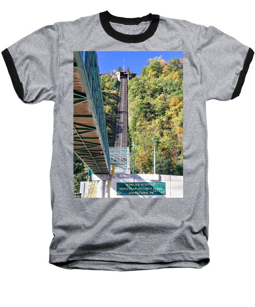 Steep Johnstown Incline Baseball T-Shirt