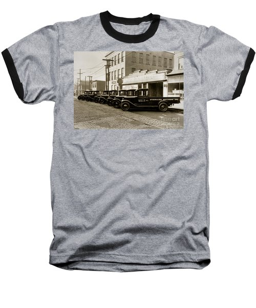 Stegmaier Brothers Inc Beer Trucks At 693 Hazle Ave Wilkes Barre Pa 1930s Baseball T-Shirt