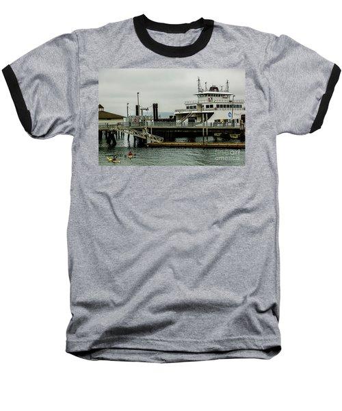 Steilacoom Ferry,washington State Baseball T-Shirt