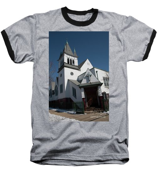 Steinwy Reformed Church Steinway Reformed Church Astoria, N.y. Baseball T-Shirt