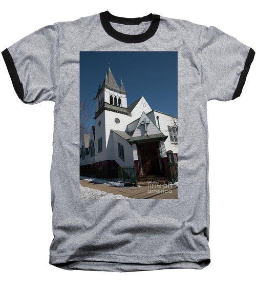 Steinwy Reformed Church Steinway Reformed Church Astoria, N.y. Baseball T-Shirt