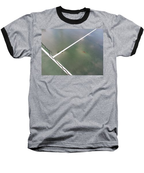 Baseball T-Shirt featuring the photograph Step On A Crack... by Robert Knight