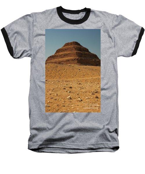 Step Pyramid Baseball T-Shirt