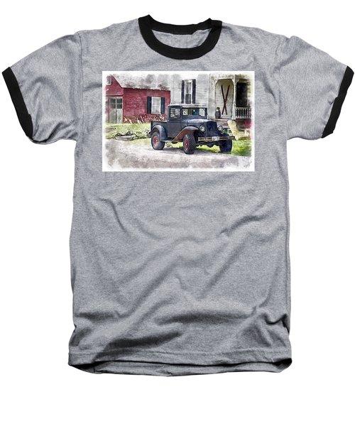 Stepping Back Baseball T-Shirt