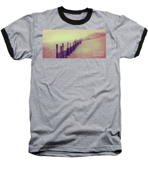 Stepping In A Clouded Dream Baseball T-Shirt
