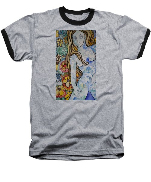 Stepping Out Baseball T-Shirt by Claudia Cole Meek