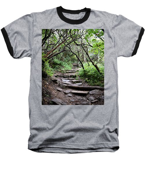 Steps Into The Enchanted Forest Baseball T-Shirt