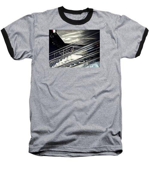 Steps Baseball T-Shirt by Sarah Loft