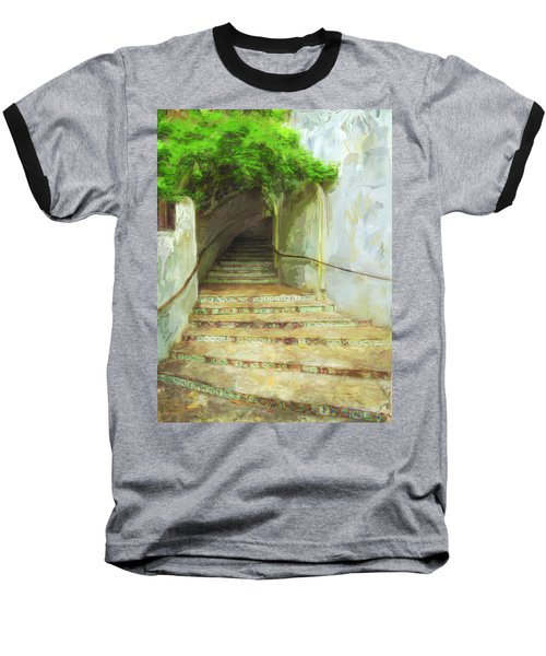 Steps To La Villita Baseball T-Shirt