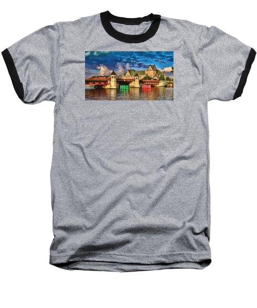 Stettin Bridge - Pol890431 Baseball T-Shirt