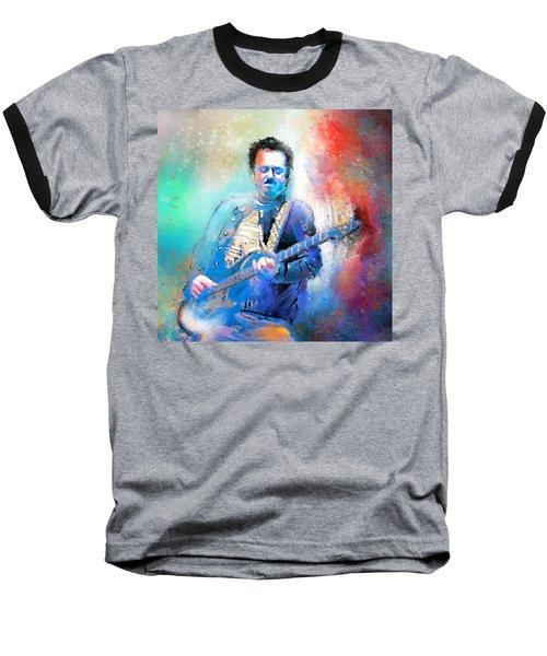 Steve Lukather 01 Baseball T-Shirt