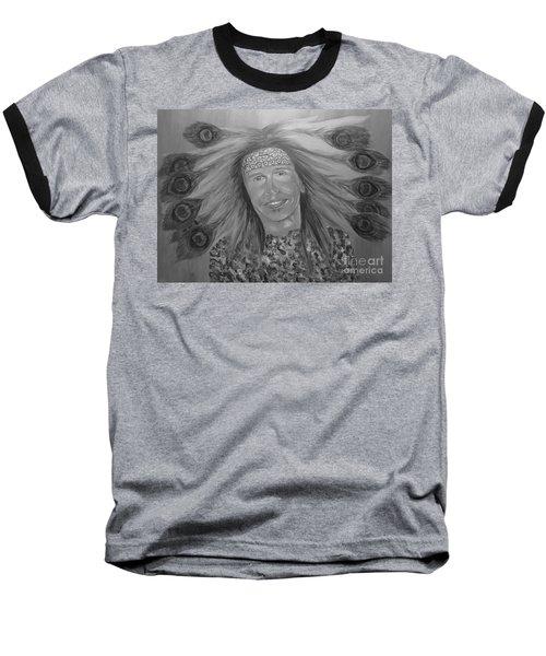 Steven Tyler Art Baseball T-Shirt by Jeepee Aero