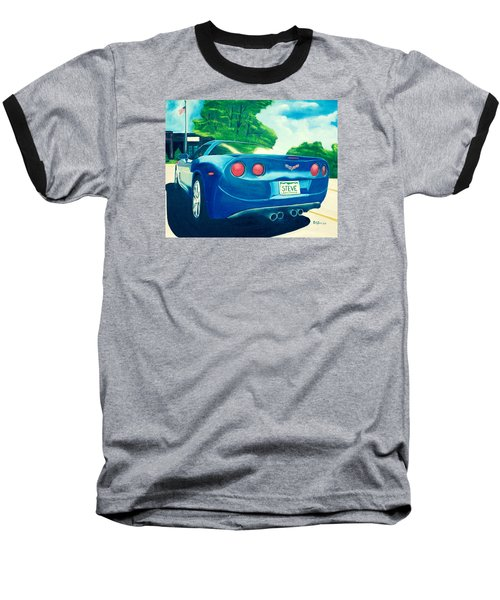Steve's Corvette Baseball T-Shirt