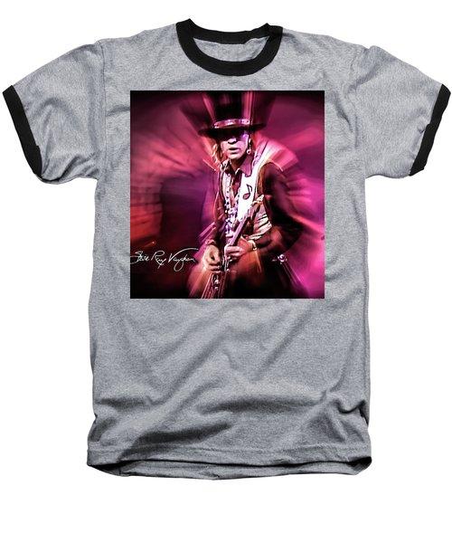 Stevie Ray Vaughan - Crossfire Baseball T-Shirt
