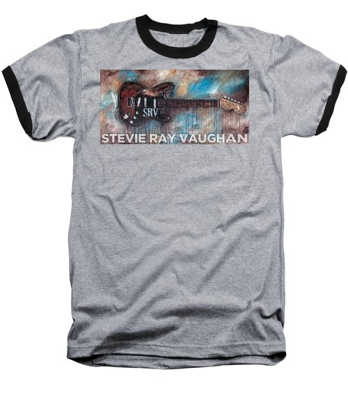 Stevie Ray Vaughan Double Trouble Baseball T-Shirt